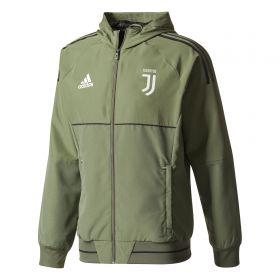 Juventus UCL Training Presentation Jacket - Green