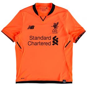 Liverpool Third Shirt 2017-18 - Kids with Chamberlain 21 printing