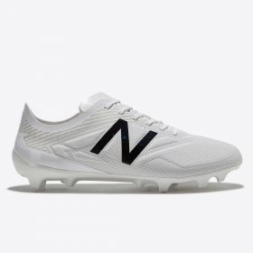 New Balance Furon 3.0 Pro Firm Ground Football Boots - White Out