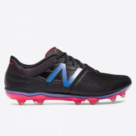 New Balance Visaro 2.0 Firm Ground Football Boots Limited Edition - Black/Alpha Pink