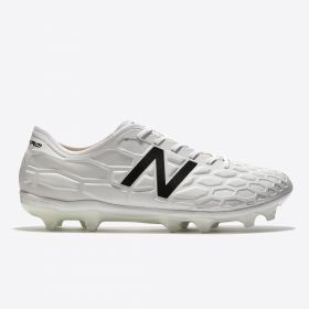 New Balance Visaro 2.0 Pro Firm Ground Football Boots - White Out