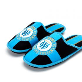 Olympique de Marseille Collegiate Slippers - Black - Kids