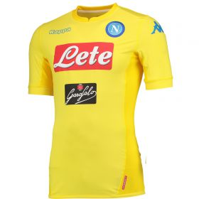 SSC Napoli Away Match Shirt 2017-18