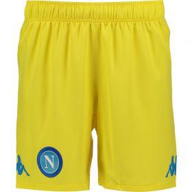 SSC Napoli Away Match Shorts 2017-18
