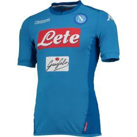 SSC Napoli Home Match Shirt 2017-18