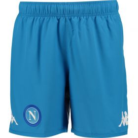 SSC Napoli Home Shorts 2017-18