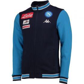 SSC Napoli Jacket - Blue Marine Azure