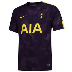 Tottenham Hotspur Third Stadium Shirt 2017-18 with Wanyama 12 printing