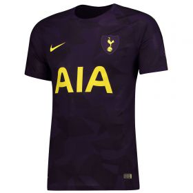 Tottenham Hotspur Third Vapor Match Shirt 2017-18 with Llorente 18 printing