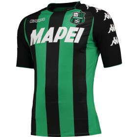 US Sassuolo Authentic Home Shirt 2017-18
