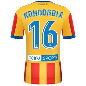 Valencia CF Away Shirt 2017-18 with Kondogbia 16 printing