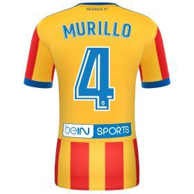 Valencia CF Away Shirt 2017-18 with Murillo 4 printing
