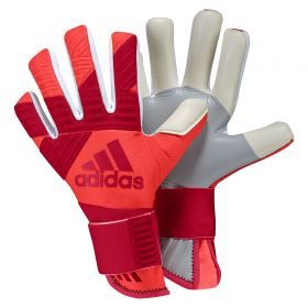 adidas Ace Next Gen Pro Goalkeeper Gloves - Bold Red/Black