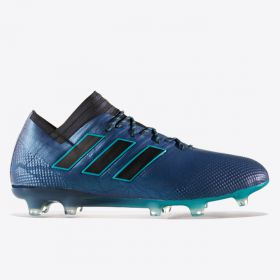 adidas Nemeziz 17.1 Firm Ground Football Boots - Energy Blue/Core Black/Core Black
