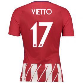 Atlético de Madrid Home Vapor Match Shirt 2017-18 Special Edition Metropolitano with Vietto 17 printing