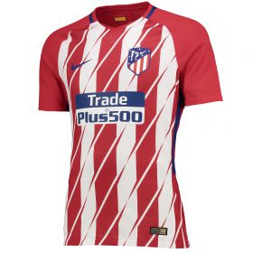 Atlético de Madrid Home Vapor Match Shirt 2017-18 with Juanfran 20 printing