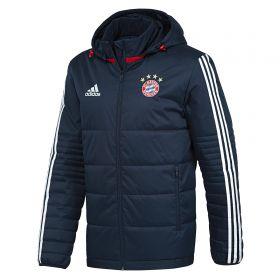 Bayern Munich Training Winter Jacket - Navy