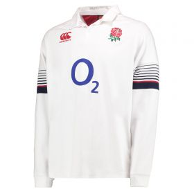 England Rugby Vapodri Home Classic Shirt 2017-18 - Long Sleeve