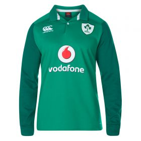 Ireland Rugby Vapodri Home Classic Shirt 2017-18 - Long Sleeve