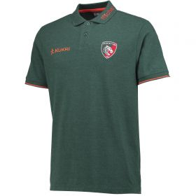 Leicester Tigers Pique Polo - Lt Marl