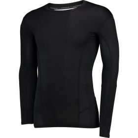 Aston Villa HeatGear Warp Sonic Baselayer Top - Long Sleeve - Black