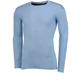 Aston Villa HeatGear Warp Sonic Baselayer Top - Long Sleeve - Peninsula Blue