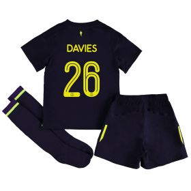 Everton 3rd Infant Cup Kit 2017/18 with Davies 26 printing