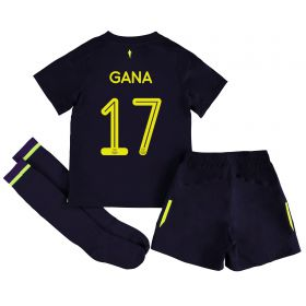 Everton 3rd Infant Cup Kit 2017/18 with Gana 17 printing