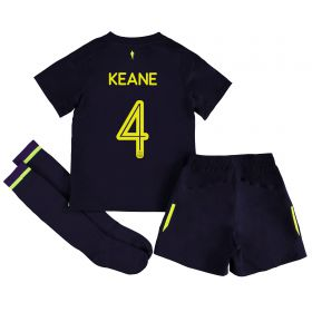 Everton 3rd Infant Cup Kit 2017/18 with Keane 4 printing