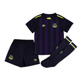 Everton 3rd Infant Kit 2017/18 with Dowell 28 printing