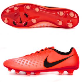 Nike Magista Opus II Firm Ground Football Boots - Total Crimson/Black/University Red/Bright Mango