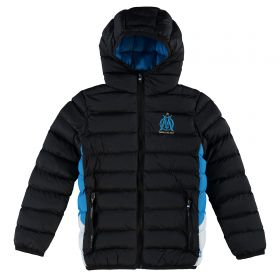 Olympique de Marseille Padded Jacket - Black - Boys