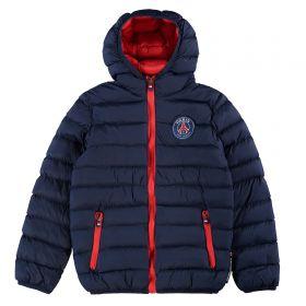 Paris Saint-Germain Padded Down Jacket - Navy - Junior