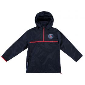 Paris Saint-Germain Windbreaker Jacket - Navy - Junior