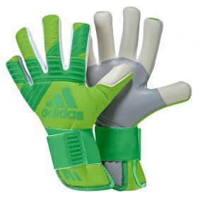 adidas Ace Next Gen Pro Goalkeeper Gloves - Semi Solar Green/Energy Green