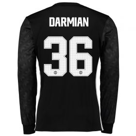 Manchester United Away Cup Shirt 2017-18 - Long Sleeve with Darmian 36 printing