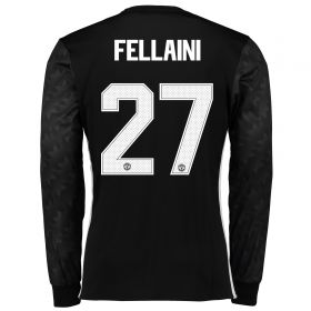 Manchester United Away Cup Shirt 2017-18 - Long Sleeve with Fellaini 27 printing