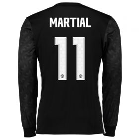 Manchester United Away Cup Shirt 2017-18 - Long Sleeve with Martial 11 printing
