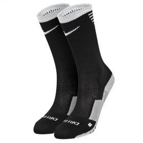 Nike Stadium Football Crew Socks - Black/White/White