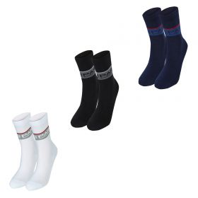 Paris Saint-Germain 3 PK Sports Socks - Navy/Black/White - Mens