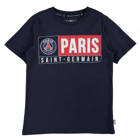 Paris Saint-Germain T-Shirt - Navy - Junior