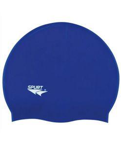 Spurt Силиконова шапка за плуване SH71 Blue - Червено