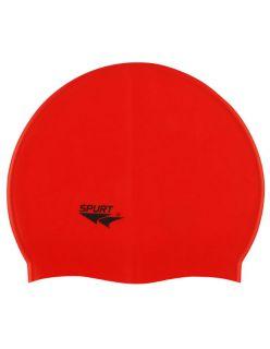 Spurt Силиконова шапка за плуване FG511 Red - Червено