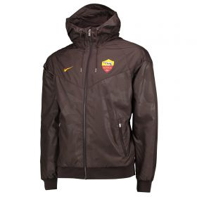 AS Roma Authentic Windrunner - Brown