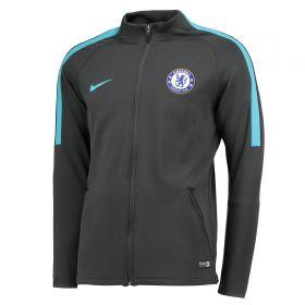 Chelsea Strike Aeroswift Track Jacket - Black