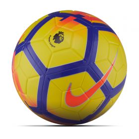 Nike Premier League Strike Football - Yellow