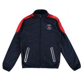 Paris Saint-Germain Polyester Tracksuit - Navy - Junior