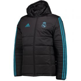 Real Madrid UCL Training Winter Jacket - Black