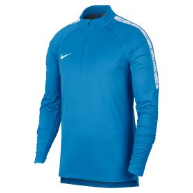 Nike CR7 Shield Squad Drill Top - Italy Blue/White/White