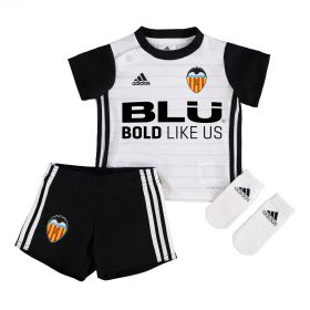 Valencia CF Home Babykit 2017-18 with C. Soler 18 printing